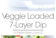 Healthy 7 Layer Dip