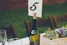 Bryllup borddækning
