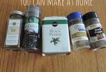 Homemade Mixes Salad Dressings & Sauces