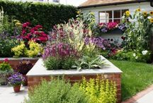 Retirement Garden Ideas / Ideas for creating a garden for retirement to suit the needs and requirements of an older, retired gardener.