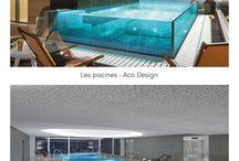 Piscines Carré Bleu / Carré Bleu est un fabricant français de piscine haut de gamme. Afin de présenter ses différents produits sur des salons internationaux, l'agence de design ACO nous a commandé plusieurs visuels 3D mettant en situation les bassins. Une chose est sûre, ça fait rêver !