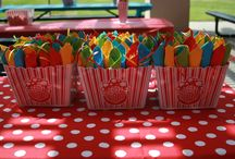 bday party ideas / by Melissa Schaefer