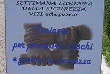 Settimana della Sicurezza 2014 / Stand della CNA di Frosinone