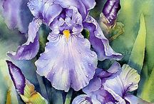 Watercolor: Ann Mortimer (with art tutorials)
