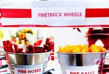 Fire truck bday