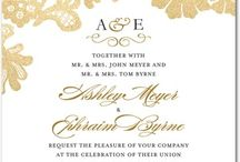 Invites / Wedding