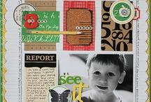scrapbooking / by Donna Woodard