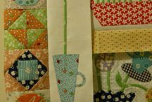 Things for Gossip in the Garden quilt