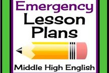 Emergency lesson plans