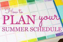 Summer Organization (Great tips for holidays too)