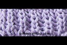 Knitting / Πλέξιμο με βελονες