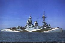 Historie krigsskip