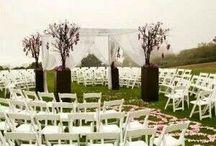 Weddings / Ceremonies, receptions, everything we love about weddings!