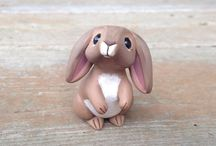 Easter - polimer clay