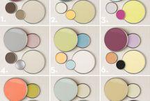 vzorkovník-paleta barev