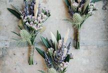 Wedding - bouquets, flowers