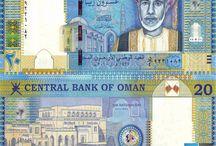 Billets Oman / Le rial omanais est la monnaie officielle du sultanat d'Oman depuis 1970. Les billets de banque Oman en circulation sont : de 1, 5, 10, 20, et 50 OMR.