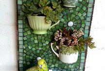 záhrada dekorácie