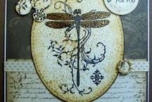 cards dragonflies / by Sandra Malinowsky-Carter