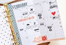 personal size planner / ideas for the personal sized planner: Filofax personal or Kikki K medium or Louis Vuitton MM