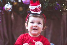 christmas photo shot for kids