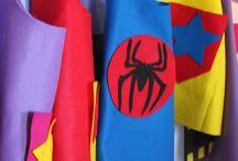 Superhelden feest / Verjaardag lenni