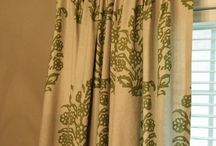 Drapes / by Holly Mathis Interiors