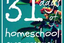 31 days of homeschool encouragement