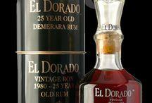 Old rum, cigar, whiskey