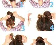 coque cabelo