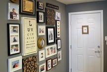 Gallery and Photo Walls / All the lovely things to put on a wall, and how to do it right, with style! / by Kathy Miller