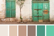 Color palettes / Color palettes to use as inspiration for various crafts