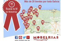 Con M de Mobelrías / Asociación Mobelrías es una empresa especialista en el diseño y venta de mobiliario de calidad para tu hogar o negocio.  Mobelrías va con la M: - Modernidad - Mimo - Madera :)