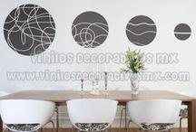 Vinilos de Enredaderas / by Vinilos Decorativos MX Mexico Decoracion de interiores con vinil decorativo