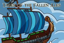 Tales Of Fallen Ales / Ahoy Crew!  All For Rum & Rum For All comics! Album is to be released on February 2nd! Visit lagerstein.com for more information.