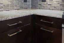 Tiles in Kitchens and Baths / Tile design inspiration.