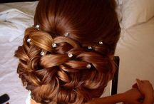 engagement hair