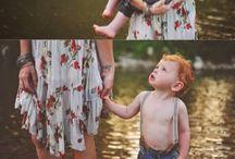 Breastfeeding dress shoot