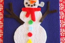 winter crafts / by Linda Cozzi