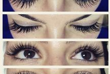 Lash Extentions by our Girls / Eyelash Extentions done by the girls at Bella Sauvage!