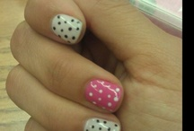 pretty nails!!! great painting ideas / by Monica Esparza