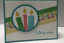 Build A Birthday / Projects created with the Build A Birthday stampset