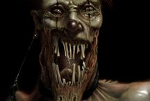 Clowns / Страшные и очень страшные Клоуны! Я знаю многие из вас их бояться, так что добро пожаловать!:) Scary, very scary clown! I know many of you are afraid of them, so welcome! :)