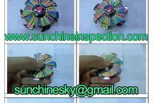 Fidget-spinner quality inspection