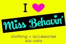 Press / Press about Miss Behavin'!