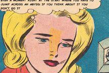 comic-y, vintage, girly thing