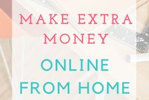 Making money and side hustles / No matter how many hours a week you work, there is always space to make some easy extra money. This can be at home, online, selling things, making things. Whatever your lifestyle, you can generate extra streams of income. Click through to get some new ideas.