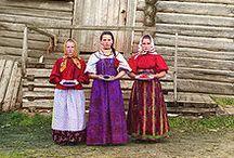Russian folk dress