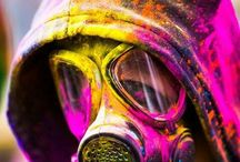 Gas mask Concepts / Random images and artworks..