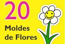 Molde de flores